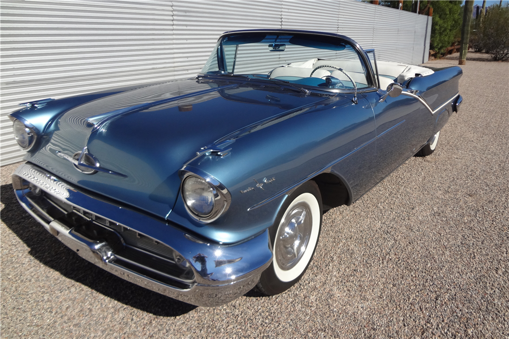 1957 OLDSMOBILE 98 STARFIRE CONVERTIBLE | Old Rides 4 | Pinterest ...