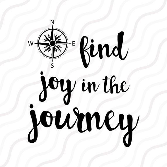 Find Joy In The Journey Svg Compass Clipart Compass Svg
