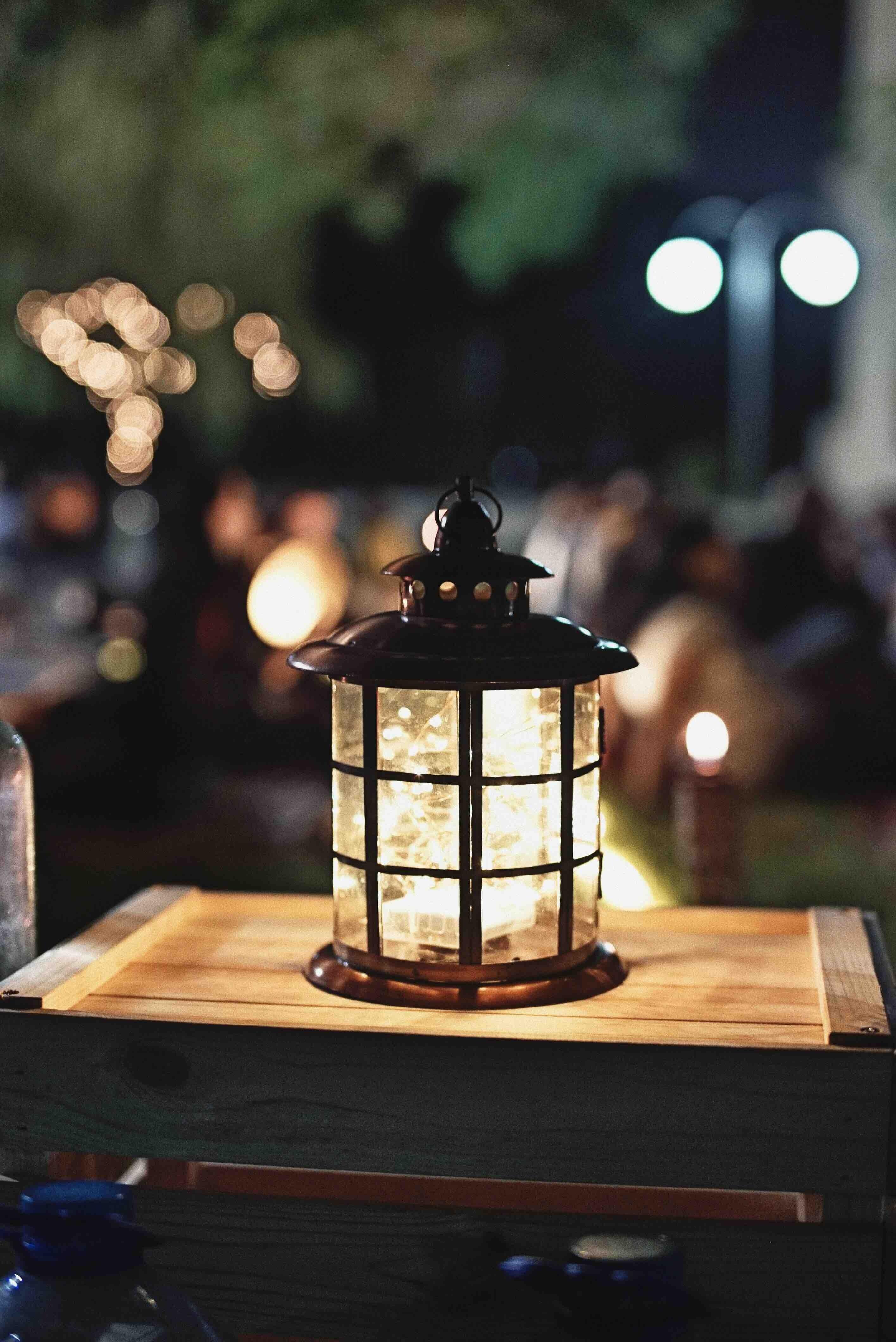 Deco De Mariage Champetre Lanterne Vintage Retro Pour Le Bal Lampe Solaire Jardin Lampe Deco Mariage Champetre