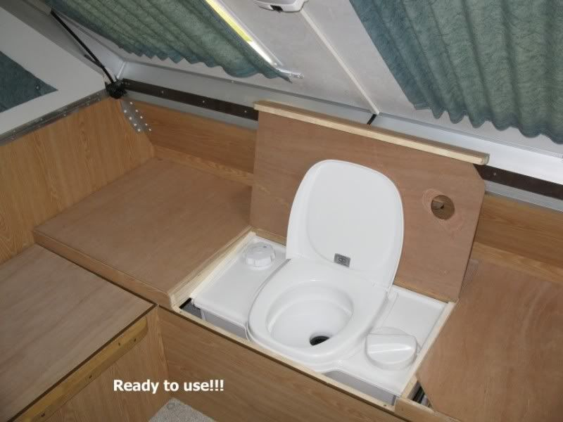 Installing Cassette Toilet Or Outdoor Toilet Shower Combo A