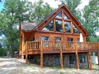 Gull Lake Log Cabin Homeaway Pequot Lakes Lake House Plans Log Home Floor Plans Cedar Homes