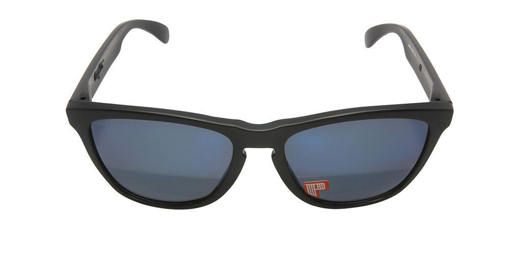 OAKLEY FROGSKINS 24-403 Matte Black / Ice Iridium Polarized