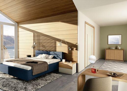 MIOLETTO II Bett hülsta.de Wohnen, Haus, Schlafzimmer
