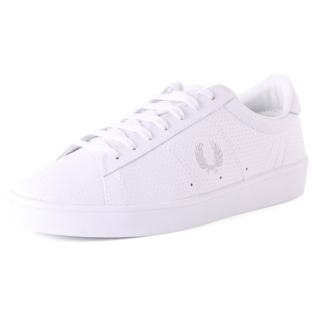 e3186a28ac2 Fred Perry Spencer Womens Leather Trainers White 6 US | my style ...