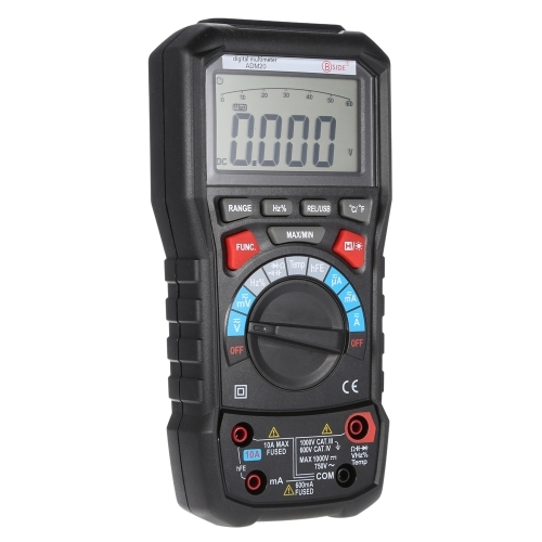 (56.98$)  Watch here  - Bside ADM20 True RMS Digital Multimeter Auto Range with USB Interface Support PC AC/DC Voltage Current Temperature Continuity Measuring