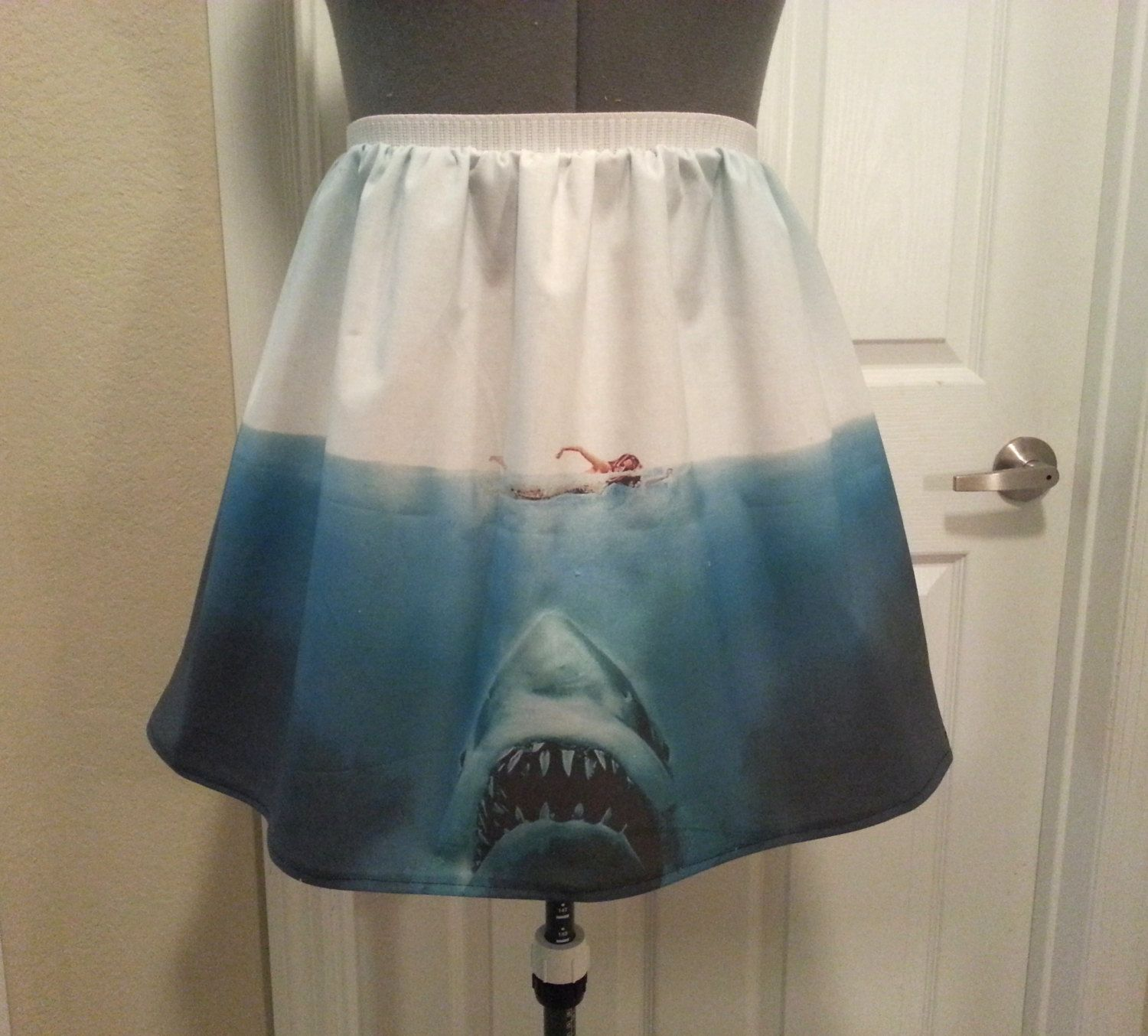 jaws inspired shark full skirt made to order by nerdalertcreations jaws inspired shark full skirt made to order by nerdalertcreations 45 00