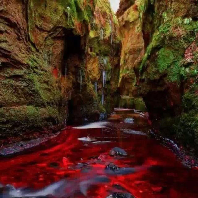 "Amazing Places To See Scotland: ""Blood River"" Devil's Pulpit, Gartness, Scotland"