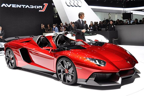 Cars That Start With J >> Lamborghini Aventador J Is A Roofless V12 Powered Supercar
