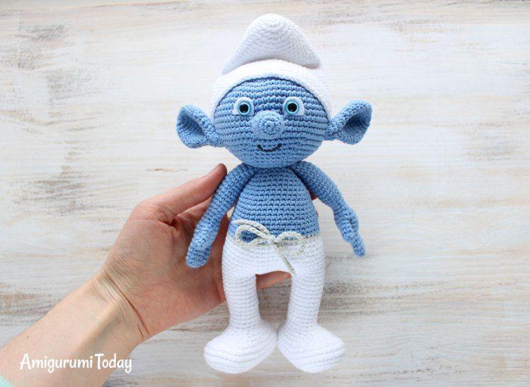 Smurf - Free Crochet / Amigurumi Pattern #crochet #amigurumi #free #ravelry