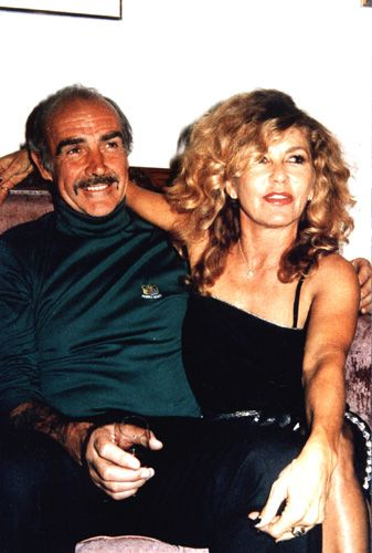 Micheline Roquebrune and Sean Connery married in 1975 ...