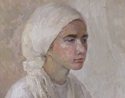 """Check out new work on my @Behance portfolio: """"A girl in a white scarf"""" http://be.net/gallery/52338277/A-girl-in-a-white-scarf"""