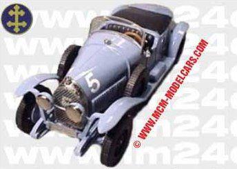 LE MANS 1924 - Lorraine Dietrich B3-6  #5 -  Gérard de Courcelles -  André Rossignol    - Modello MCM