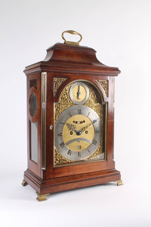 Rare German Mahogany Table Clock By Peter Behrens Schleswig Circa  # Muebles Peter Behrens