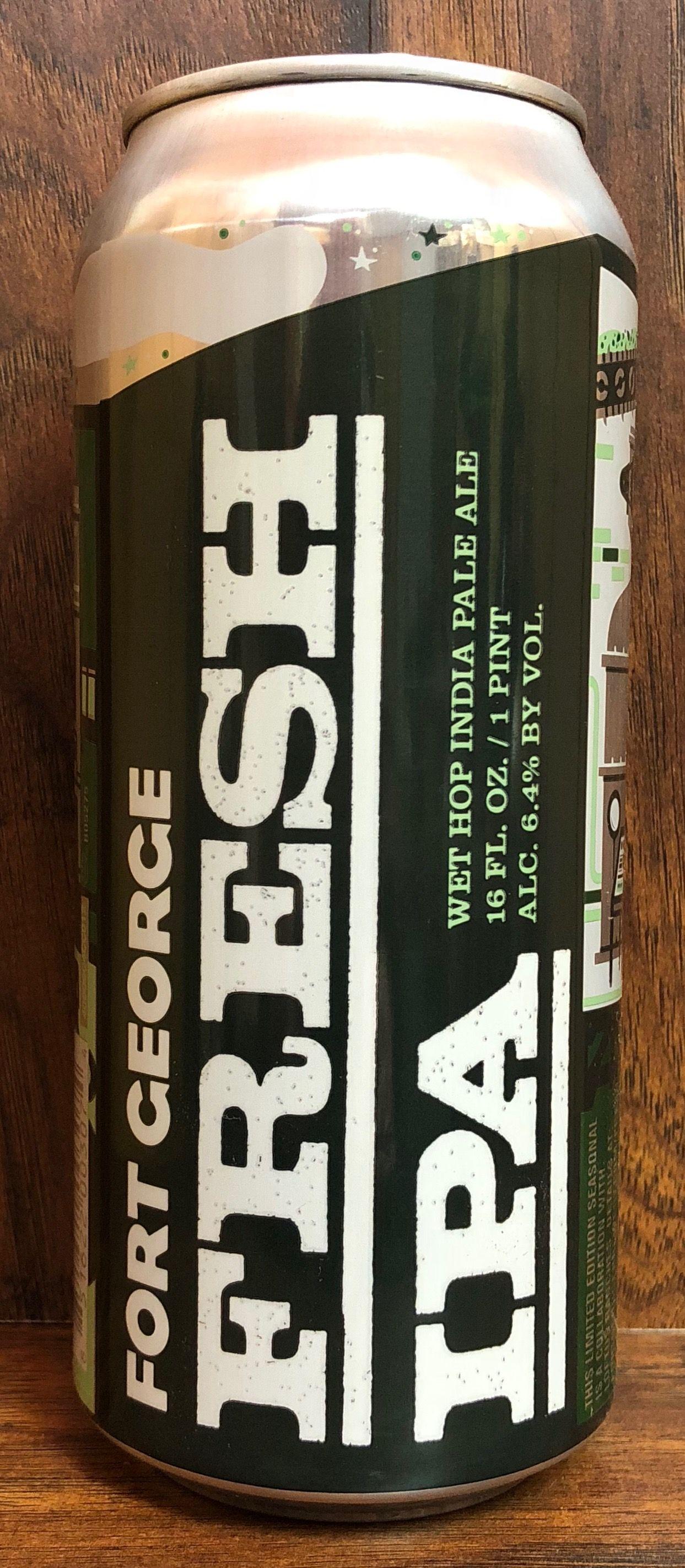 Fresh ipa fort brewery astoria oregon india