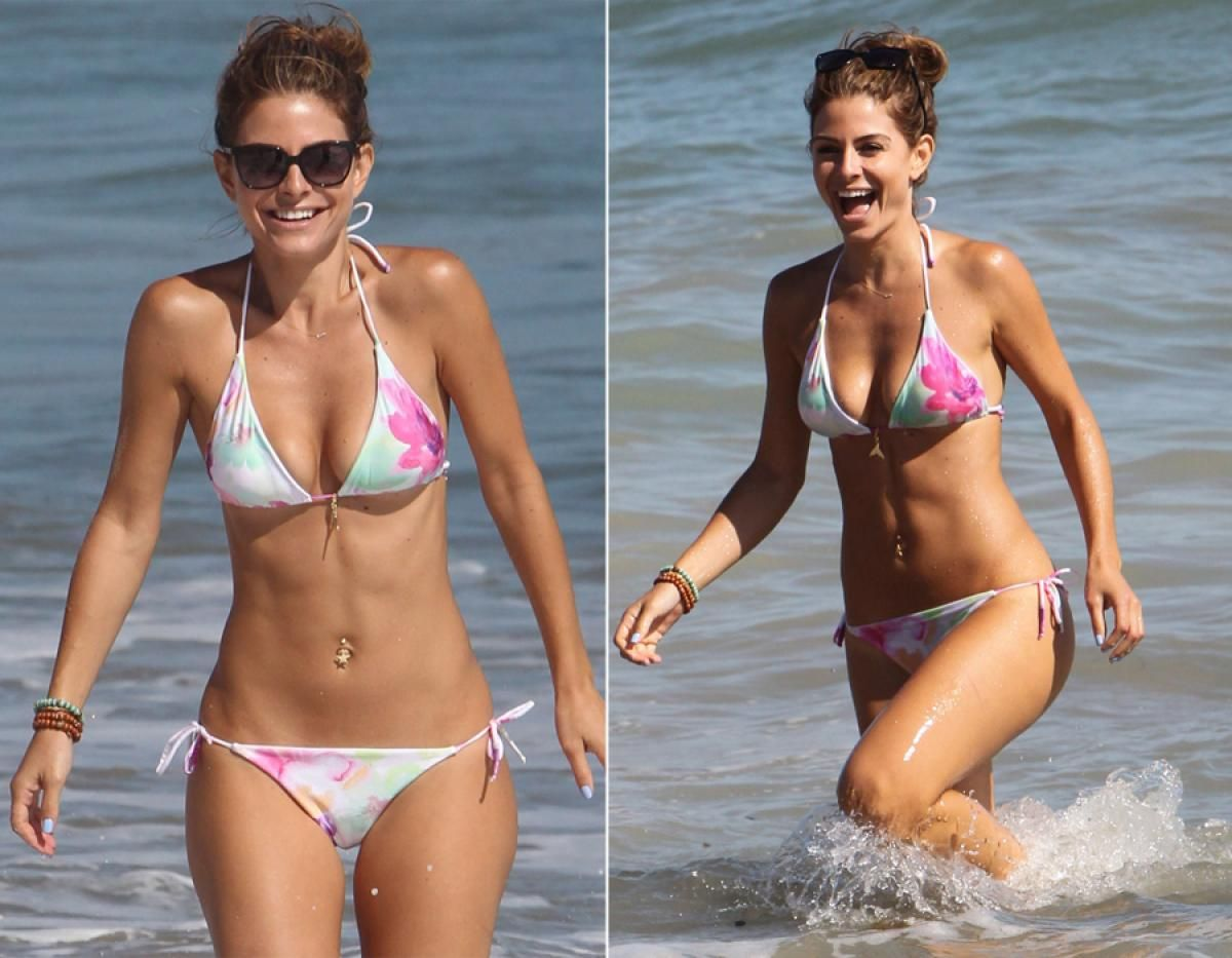 aboutnicigiri  Andrea Bowen Ashley Tisdale and Sarah Hyland in bikini for OP Clothing Line