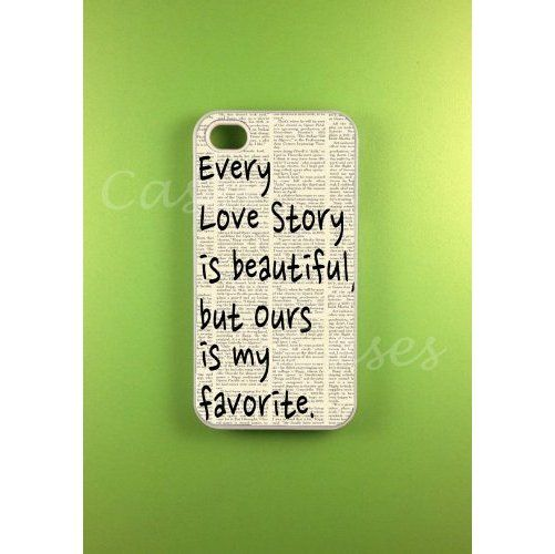 Iphone 4s Case - Our Story Iphone Case, Iphone 4  ($10.11)