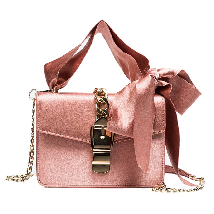 Luxury Messenger Bowknot Chains Flap Handbag ~ aliexpress.com ... d1886aef269