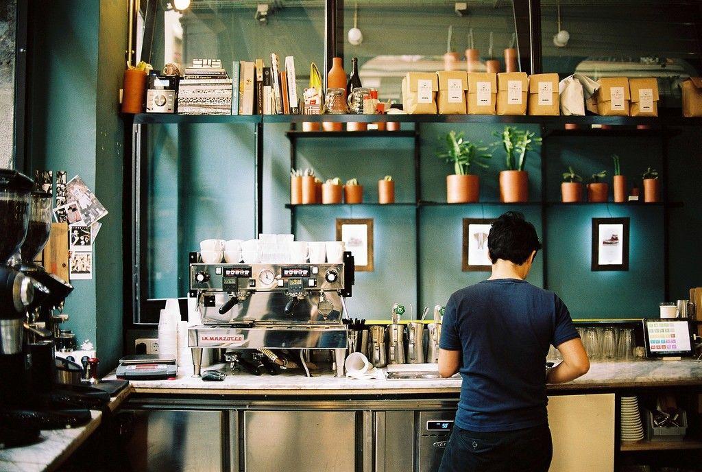 Cafe Find Satan S Coffee Corner Barcelona Melting Butter Cafe Interior Design Coffee Corner Cafe