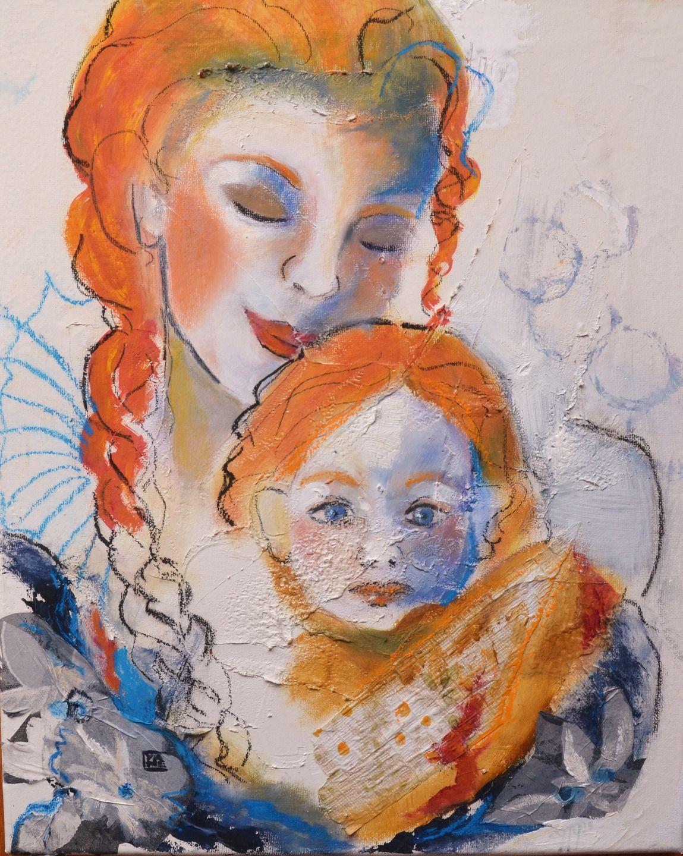 Tableau art moderne original for Art moderne peinture