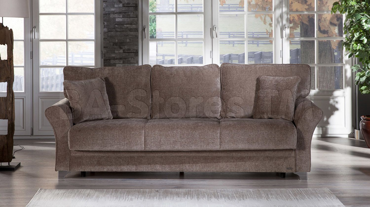padova sofa bed in jennefer vizon by istikbal 1OWYH1X8