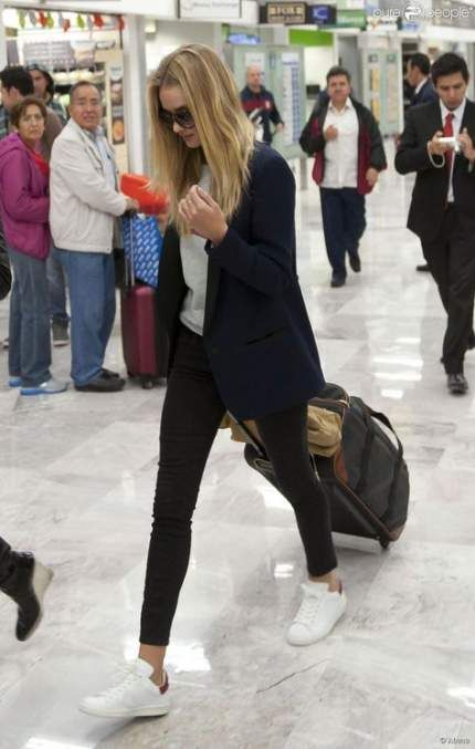 44 Ideas Travel Outfit Airport Style Rosie Huntington Whiteley