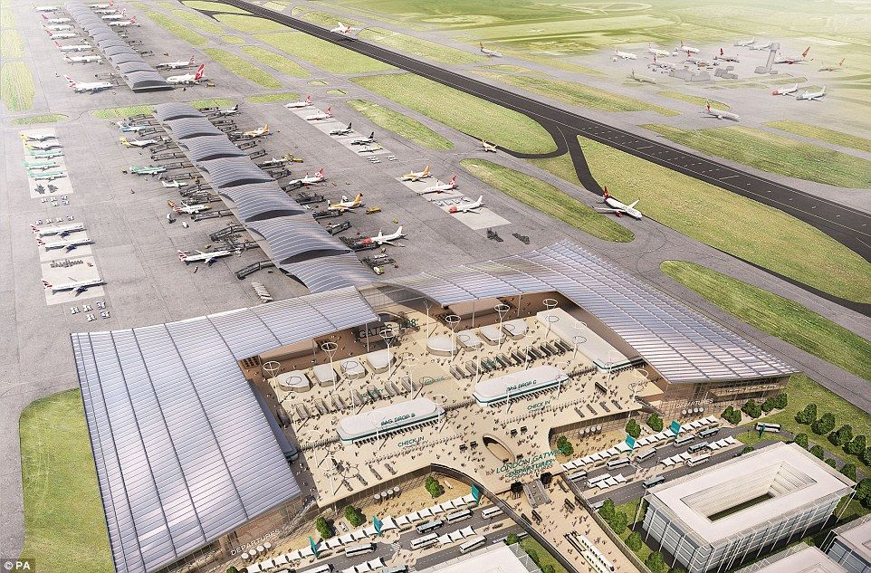 Could This Be The New Gatwick Airport Images Show Plans For