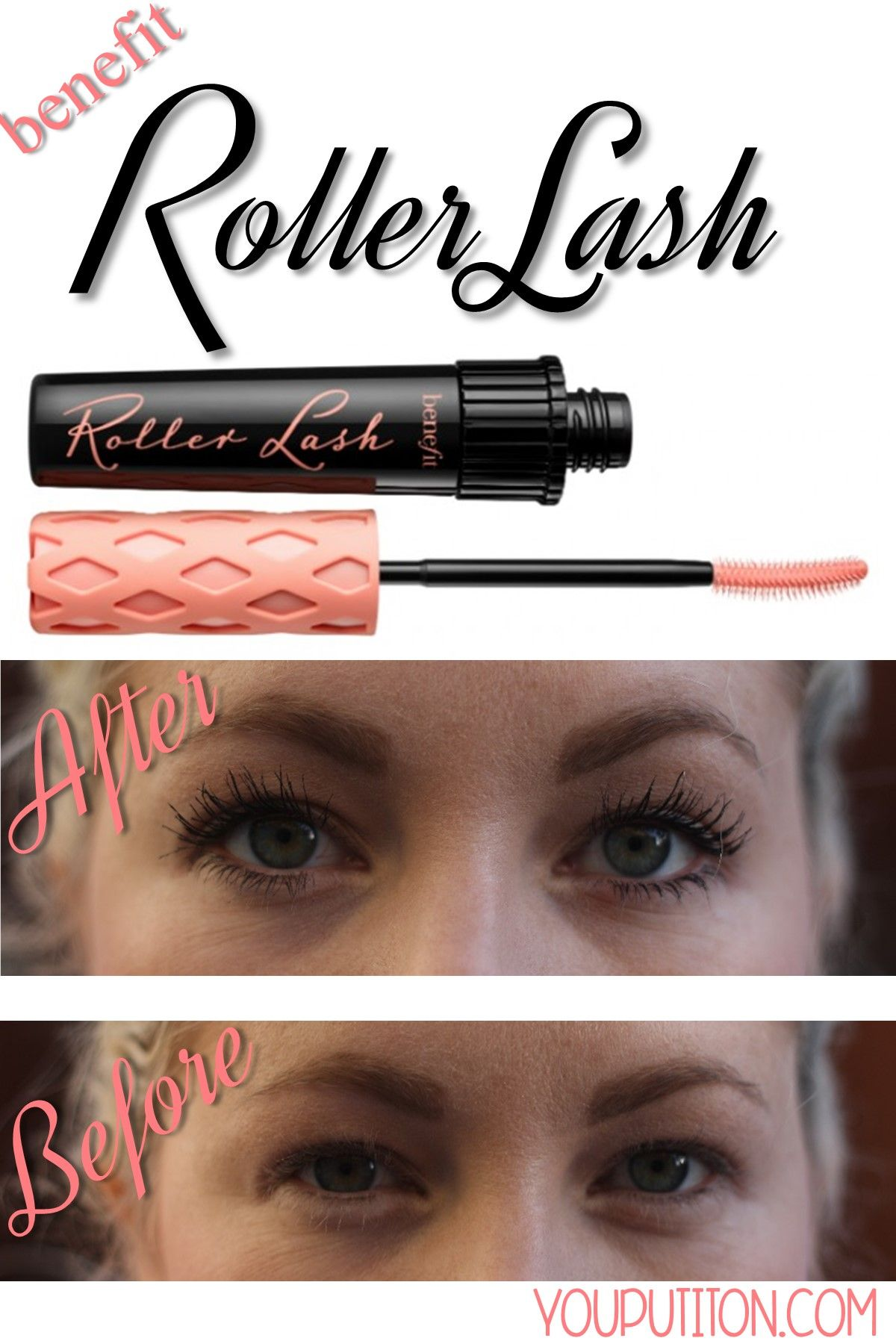 2bab8d90cfc I am in LOVE with the new Benefit Roller Lash Mascara! | .::Pin Your ...