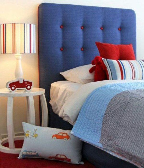kopfteile f r betten coole eigenartige designs schlafzimmer kopfteil bunt gepolstert. Black Bedroom Furniture Sets. Home Design Ideas
