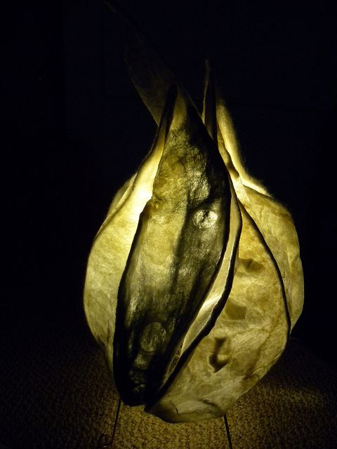 Illuminated Felt Sculpture  by Maegen