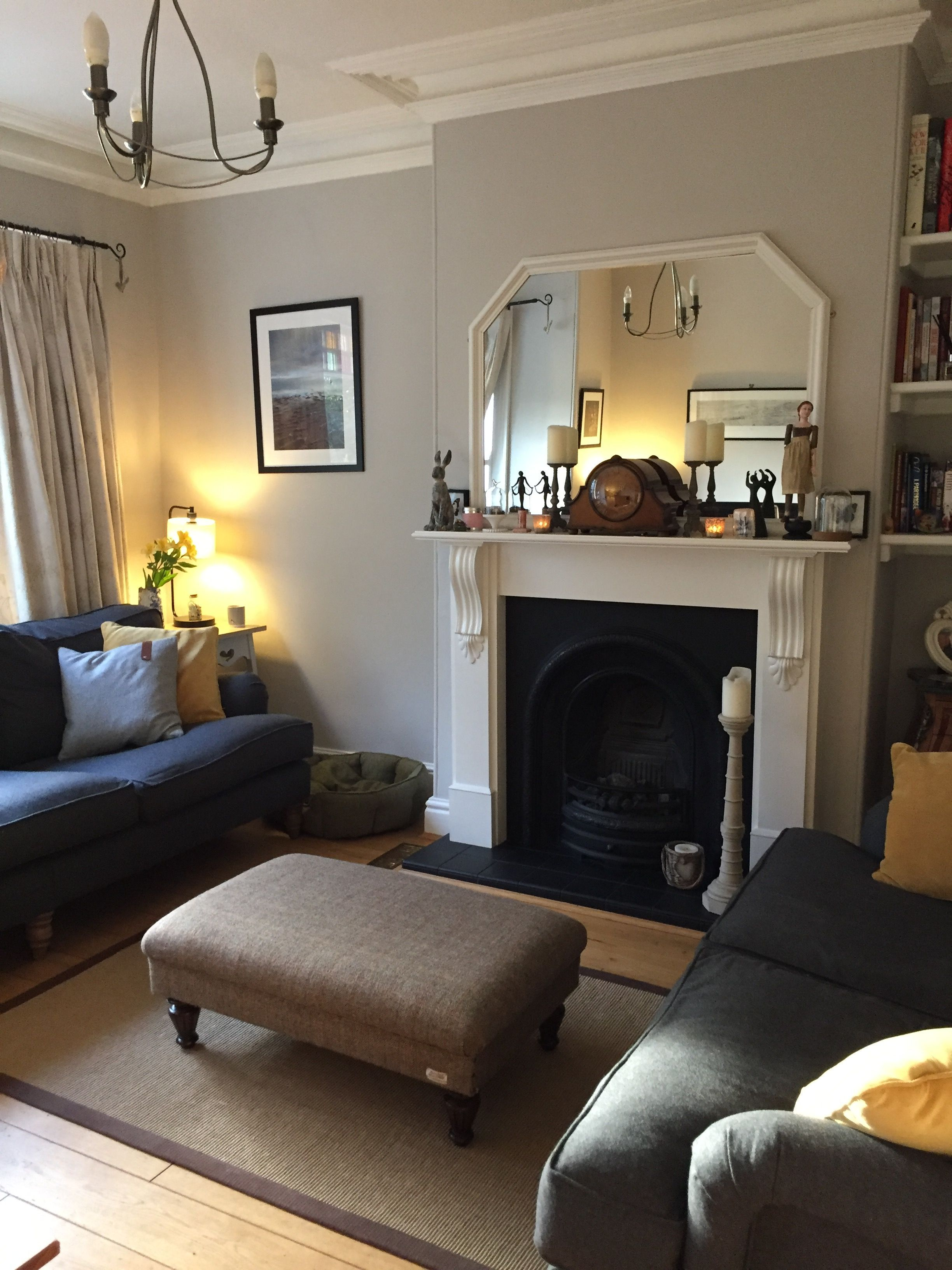 Living room complete #cornforthwhitelivingroom in 2020 ...