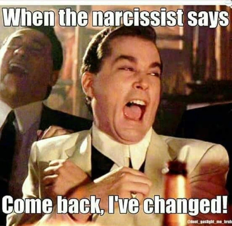 Meme funny narcissist Jokes about