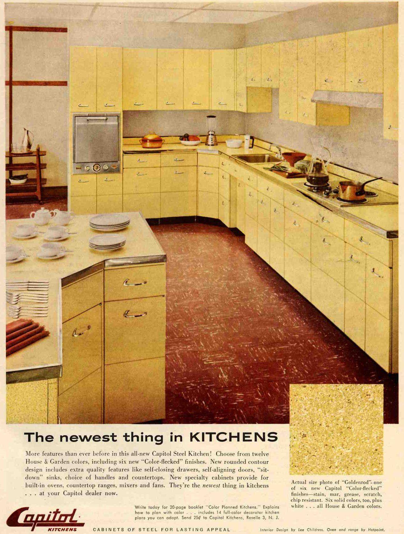 20 Years Of Mid Century Kitchen History