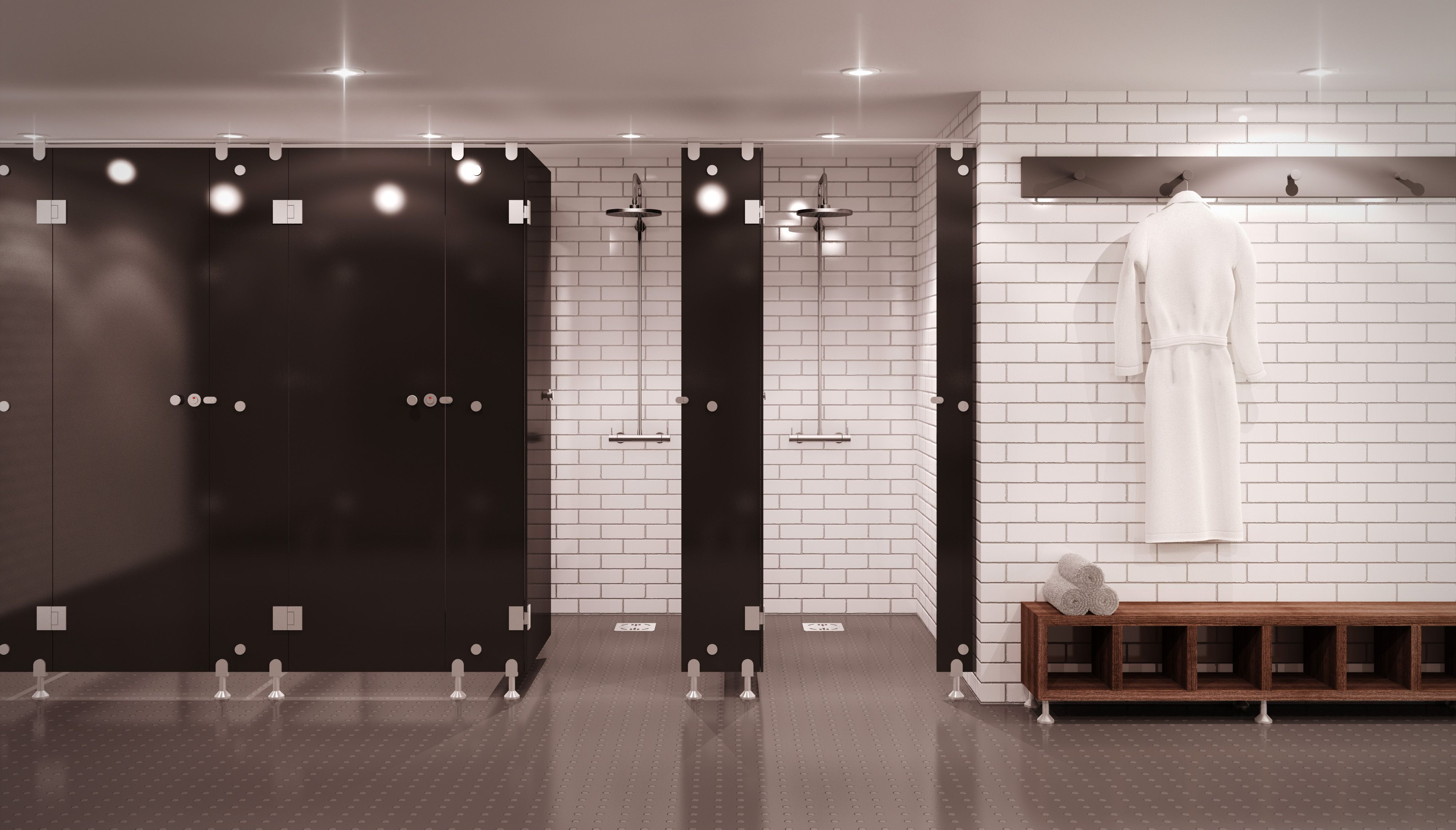 ultra modern with a flush frontage prism is the glass cubicle