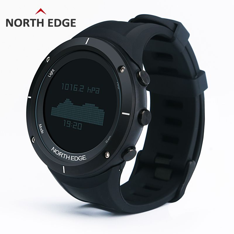 00b8b22f9 NORTH EDGE Men s sport Digital watch Hours Running Swimming watches  Altimeter Barometer Compass Thermometer Weather Pedometer Isn`t it awesome