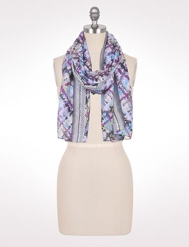 Abstract Bordered Scarf from dressbarn on Catalog Spree, my personal digital mall.