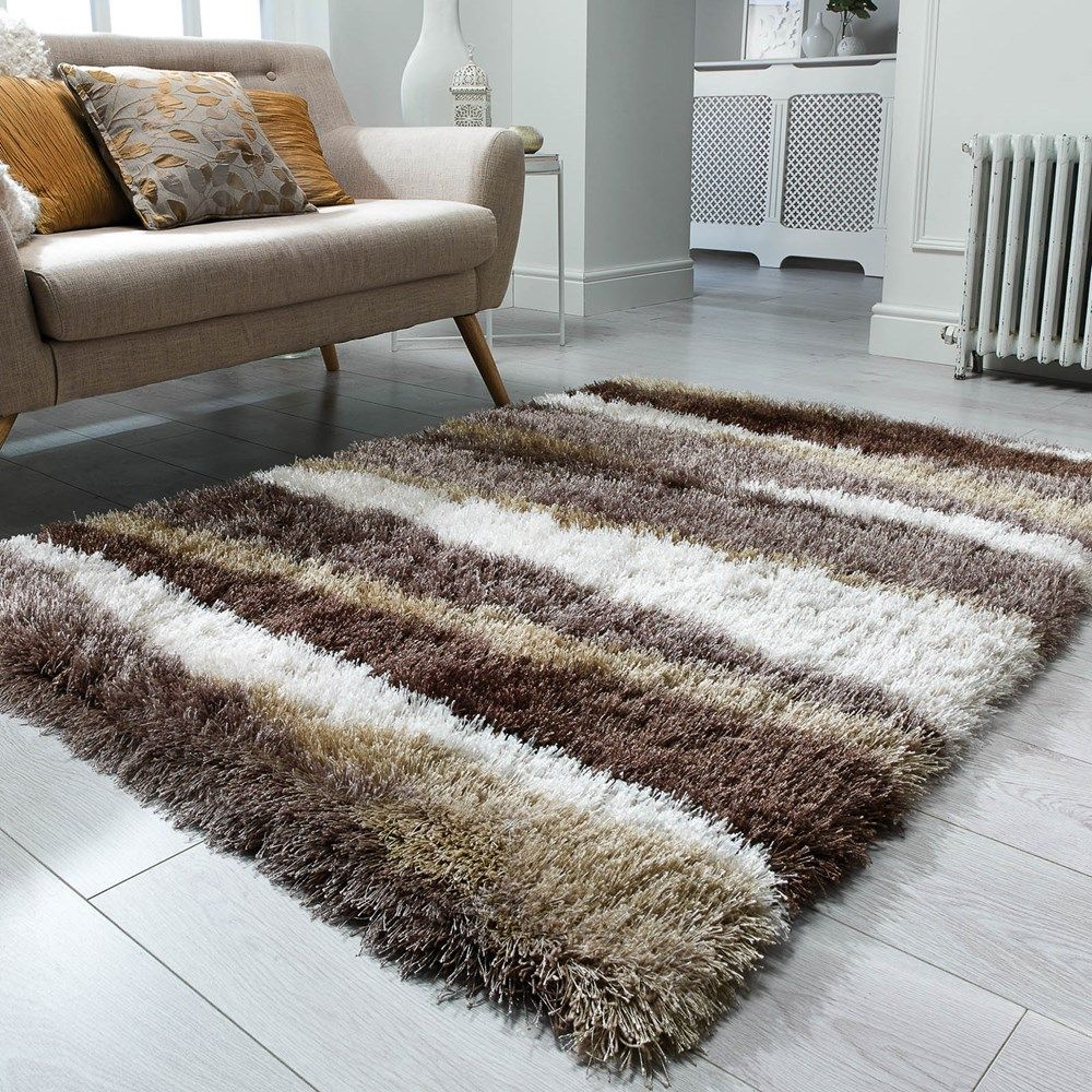 Santa Cruz Boardwalk Shaggy Rugs In Bronze Free Uk Delivery The Rug Seller Em 2020 Tapetes Feitos A Mao Tapetes Decoracao