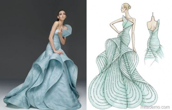Famous Fashion Designers Sketch Fashion Sketches Dresses Fashion Designers Famous Fashion Design Dress
