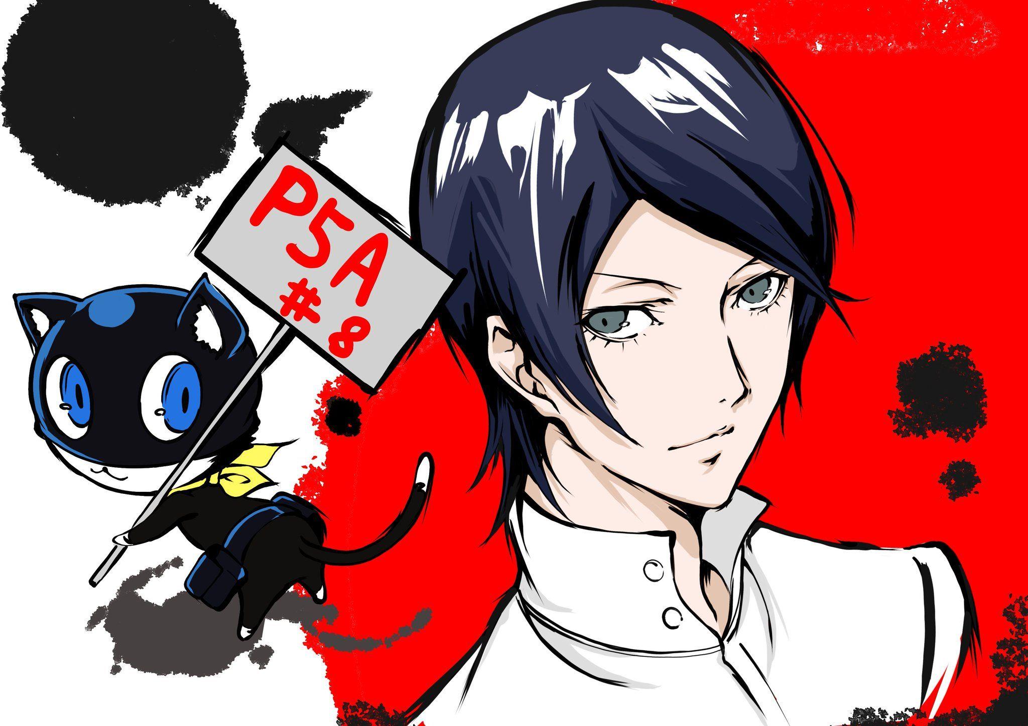 ちくわ on Twitter Persona 5, Anime, Persona