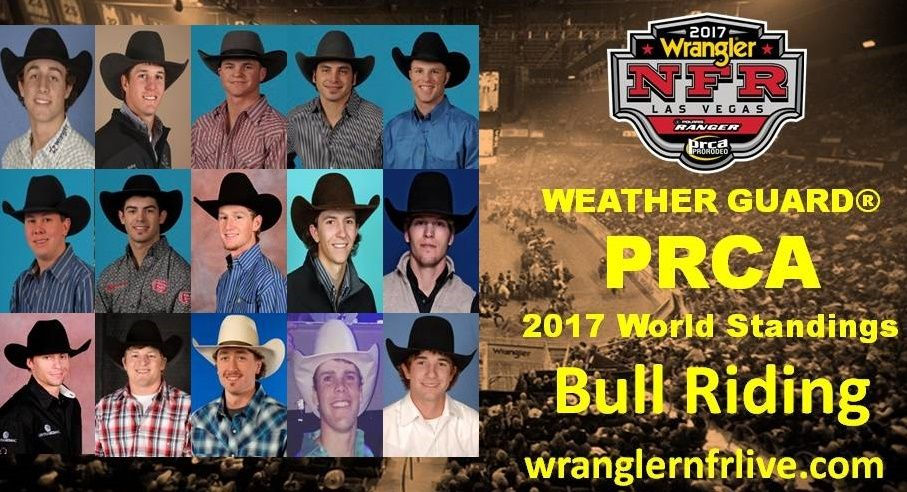 National Finals Rodeo Qualifiers 2017 Bull Riding