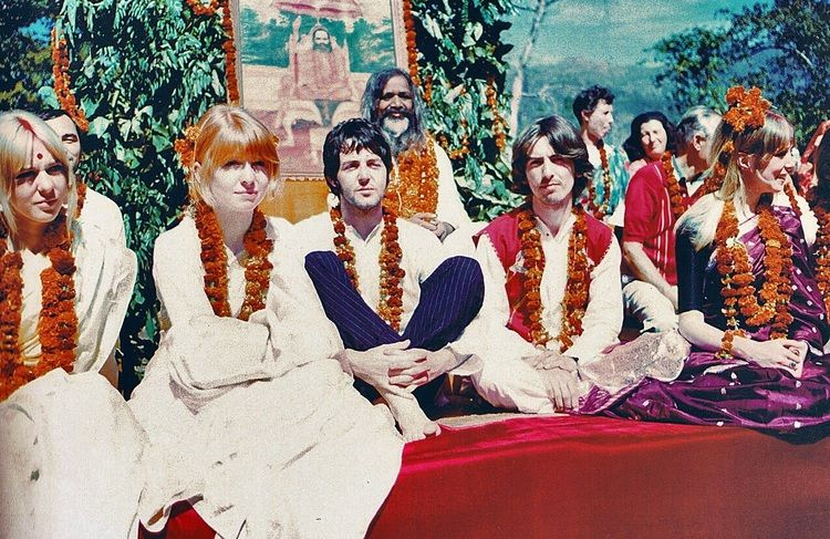 Image result for BEATLES Maharishi