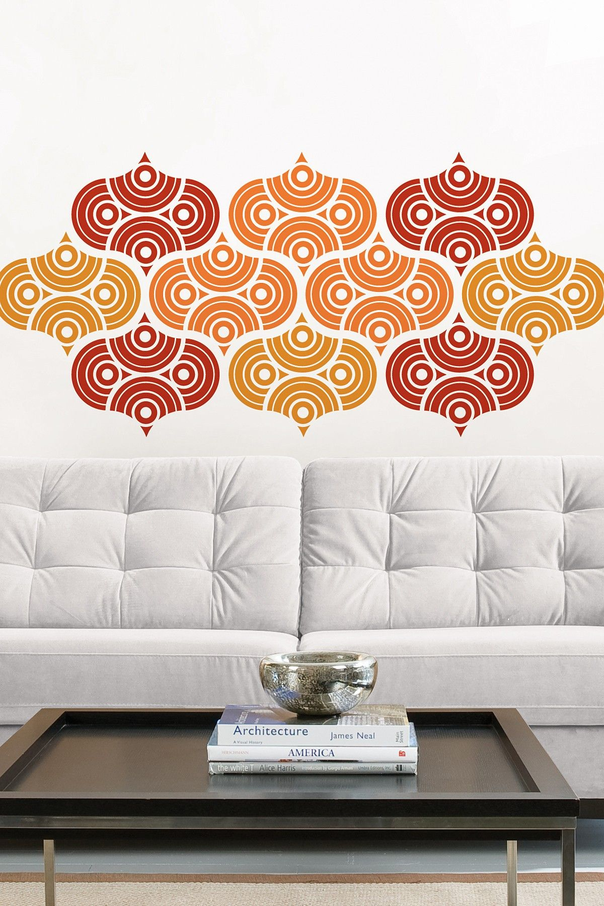 Cool Wall Decal, But I Would Use A Neutral One