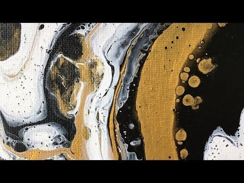 Abstract fluid acrylic pour painting dirty pour technique raspberry truffle youtube