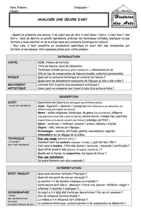 PDF  Activités ritualisées en histoire des arts au cycle 2 et 3
