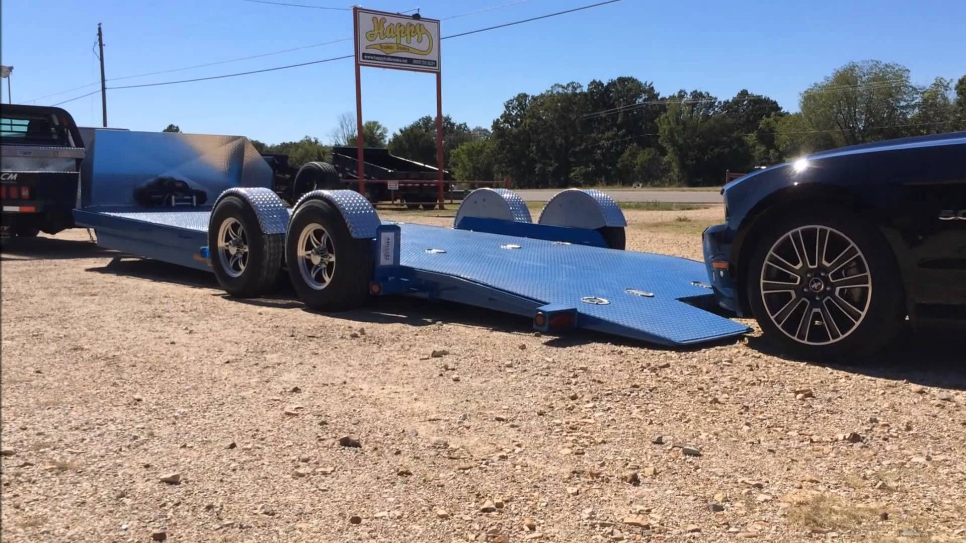 Maxey DropNLoad Air Ride Car Hauler Bagged Trailers