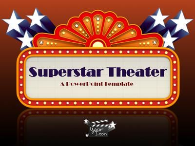 Superstar theater a powerpoint template from presentermedia superstar theater a powerpoint template from presentermedia toneelgroepblik Image collections
