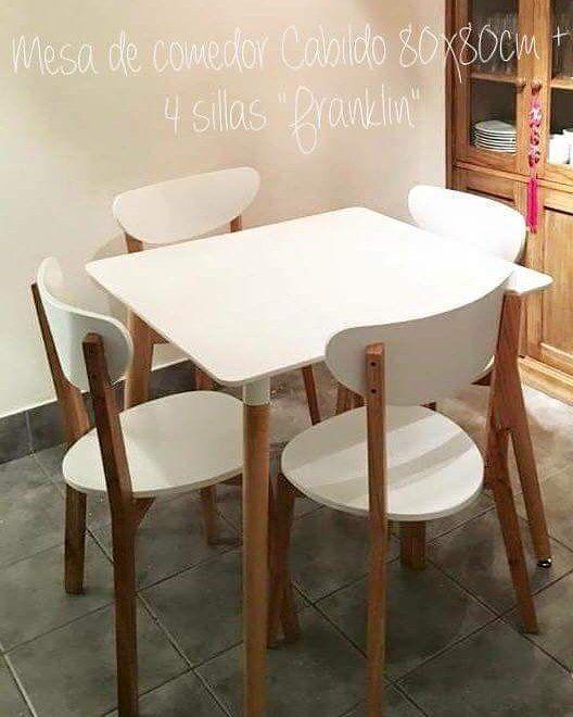 """CLIENTAS GENIALES Nos mandan sus fotitos DECOBAIRIANAS DESDE SANTA FE Ella encargo: 1 mesa de comedor """"Cabildo"""" 80x80cm  4 sillas """"Franklin""""  Encontra todos los precios de nuestros productos en: www.deco-baires.com  #decobaires #mesa #table #chair #chairs #house #home #homedeco #homedecor #homedesign #homestyle #homesweethome #homedesigner #deco #decor #decoration #decoracion #design #designer #interior #interiorstyle #style #interiordesign #furniture #furnituredesign #mesacabildo #sillas…"""