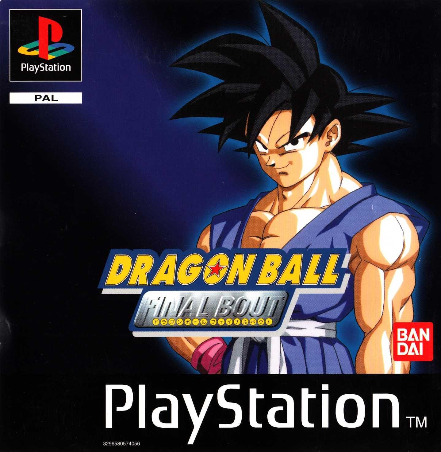 Dragon Ball Final Bout Psx Dragon ball gt final bout psx