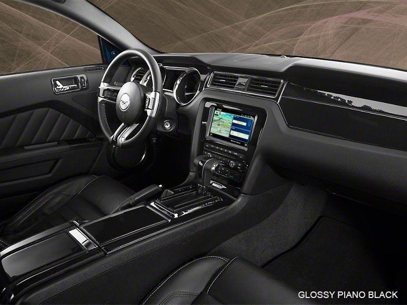 Dash Trim Basic Upgrade Kit 21 Pcs Fits Ford Mustang 2010 2014 With Navigation