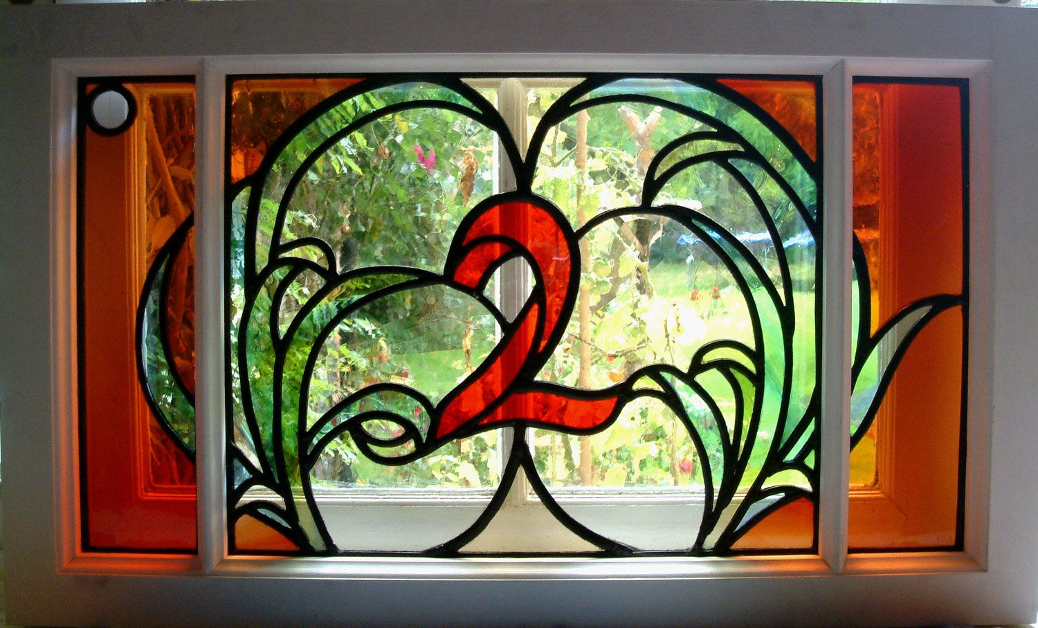 Carol arnold stained glass and design image of window stained