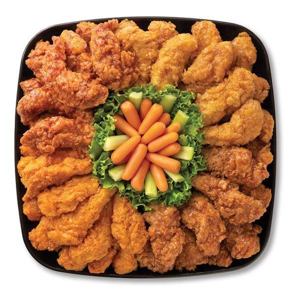 Chicken Tender Sampler Food Hot Wing Recipe Food Png